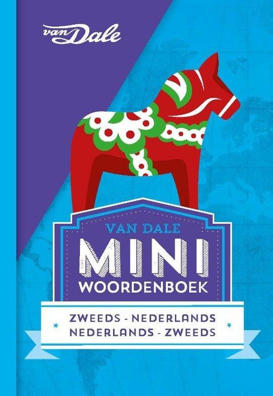 Zweeds-Nederlands v.v. | miniwoordenboek 9789460773785  Van Dale Miniwoordenboek  Taalgidsen en Woordenboeken Zweden