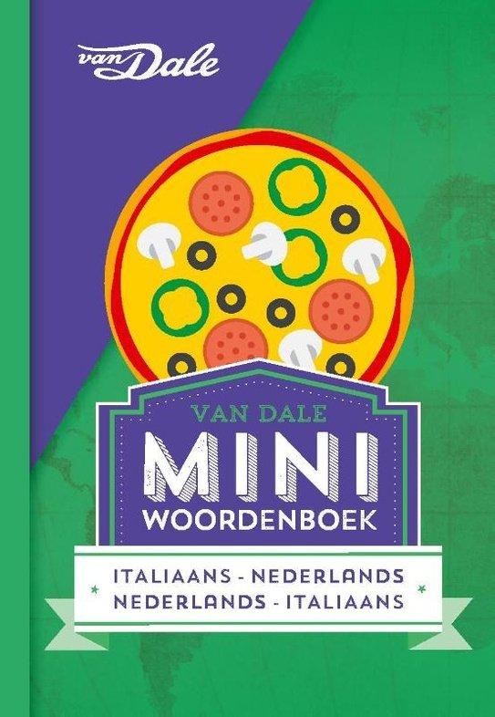 Italiaans-Nederlands v.v. | miniwoordenboek 9789460773808  Van Dale Miniwoordenboek  Taalgidsen en Woordenboeken Italië