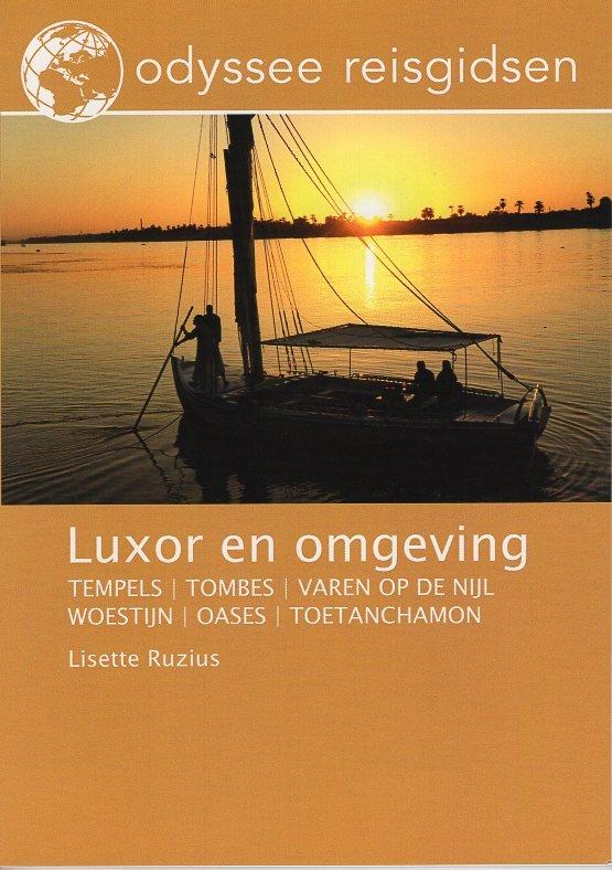 Luxor | reisgids 9789461230331 Lisette Ruzius Odyssee   Reisgidsen Egypte