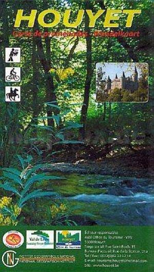 NV023 Houyet 1:25.000 9789462351349  NGI NGI/VVV-kaarten 25d  Wandelkaarten Wallonië (Ardennen)