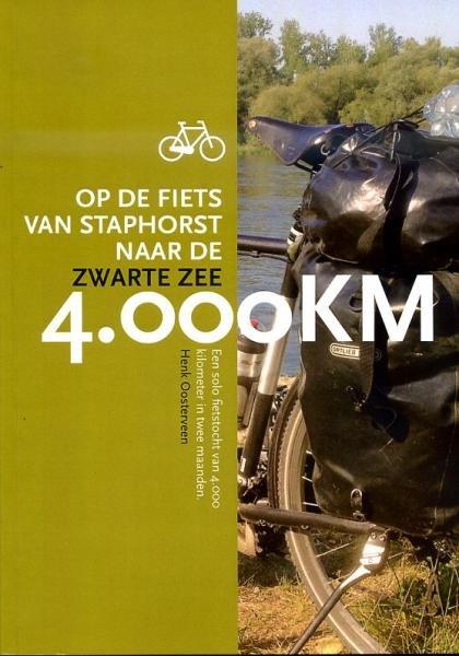 4.000 KM 9789490891039 Henk Oosterveen Henk Oosterveen   Fietsgidsen Europa