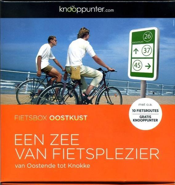 Knooppunter Fietsbox Oostkust * 9789491007255  Cucoo   Fietskaarten Vlaanderen & Brussel