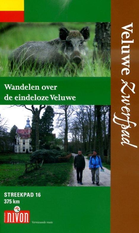 SP-16  Veluwe-Zwerfpad | Streekpad 9789491142079  Nivon Streekpaden  Meerdaagse wandelroutes, Wandelgidsen Arnhem en de Veluwe