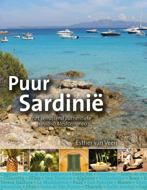 Puur Sardinië 9789491172540 Esther van Veen Edicola   Reisgidsen Sardinië