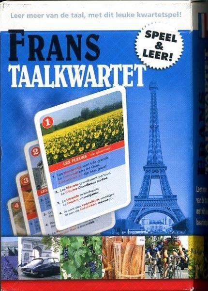 Taalkwartet Frans 9789491263033  Scala Taalkwartetten  Cadeau-artikelen, Taalgidsen en Woordenboeken Frankrijk