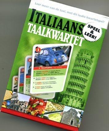 Taalkwartet Italiaans 9789491263057  Scala Taalkwartetten  Cadeau-artikelen, Taalgidsen en Woordenboeken Italië