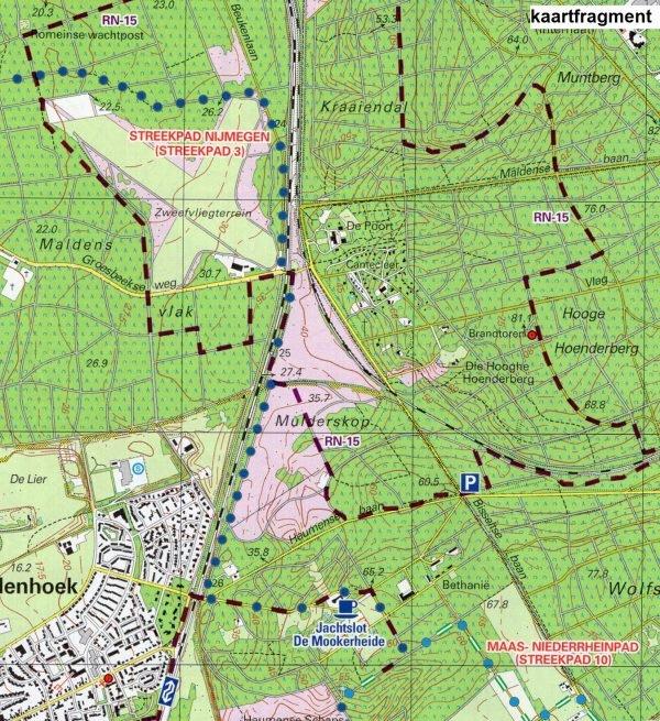 RN Rijk van Nijmegen | wandelkaart 1:25.000 9789491767005  De Noorderzon Trage Paden  Cadeau-artikelen, Wandelkaarten Niederrhein, Nijmegen en het Rivierengebied