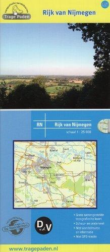 RN Rijk van Nijmegen | wandelkaart 1:25.000 9789491767005  De Noorderzon Trage Paden  Wandelkaarten, Cadeau-artikelen Nijmegen en het Rivierengebied