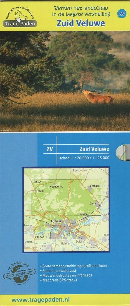 ZV  Zuid-Veluwe  | wandelkaart 1:20.000 / 25.000 9789491767012 Samenstelling en routes Leon Receveur De Noorderzon Trage Paden  Wandelkaarten, Cadeau-artikelen Arnhem en de Veluwe