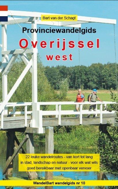Provinciewandelgids West-Overijssel 9789491899249 Bart van der Schagt Anoda   Wandelgidsen Kop van Overijssel, Vecht & Salland