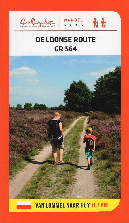 GR-564  De Loonse Route 9789492608048  Grote Routepaden Topogidsen  Meerdaagse wandelroutes, Wandelgidsen België & Luxemburg