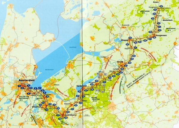 Westerborkpad 9789492641007  Wandelnet LAW-Gidsen  Meerdaagse wandelroutes, Wandelgidsen Nederland