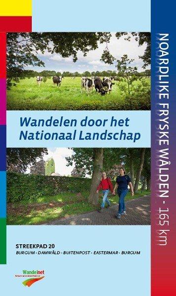 SP-20 Noardlike Fryske Walden 9789492641021  Wandelnet Streekpaden  Meerdaagse wandelroutes, Wandelgidsen Friesland