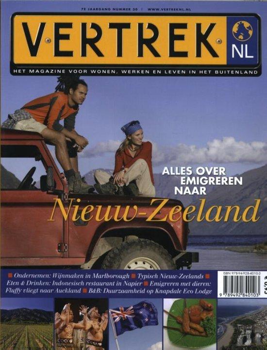 VertrekNL 30 Nieuw-Zeeland 9789492840103  Personalia   Landeninformatie Nieuw Zeeland