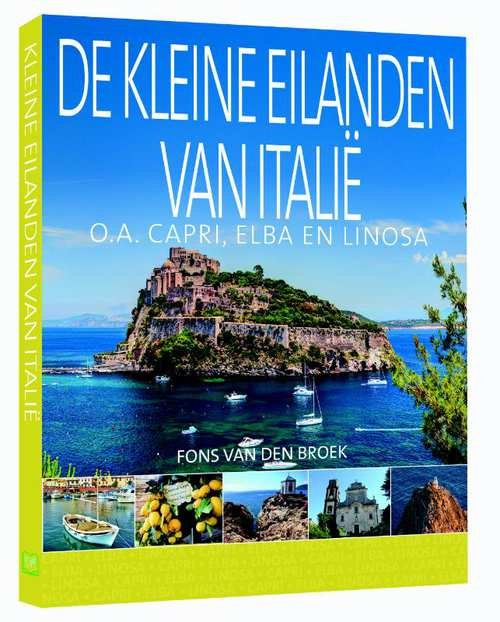 De kleine eilanden van Italië 9789492920379  Edicola   Reisgidsen Italië