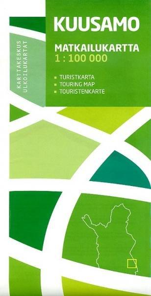 Kuusamo 1:100.000 9789515932549  Genimap Oy Wandelkaarten Finland  Wandelkaarten Finland