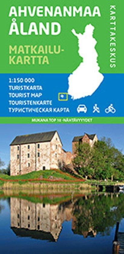 Åland (Aland), Ahvenanmaa 1:100.000 9789522662170  Genimap Oy Wandelkaarten Finland  Landkaarten en wegenkaarten Finland