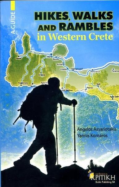 Hikes, Walks + Rambles in Western Crete 9789602186442  Kritiki   Wandelgidsen Kreta
