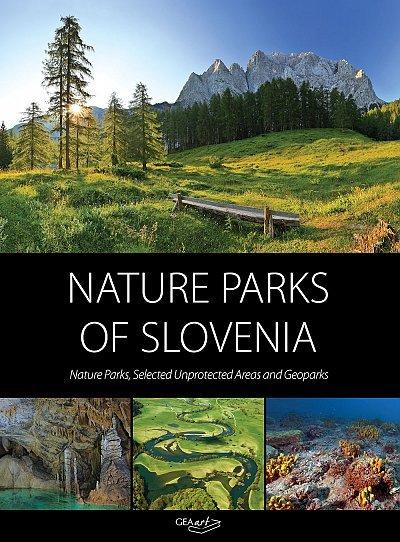 Nature Parks of Slovenia 9789619390252  Geaart   Natuurgidsen Slovenië