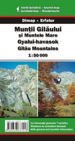 DMP-17  Muntii Gilaului | wandelkaart 1:50 000 9789638637918  Dimap Wandelkaarten Roemenië  Wandelkaarten Roemenië, Moldavië