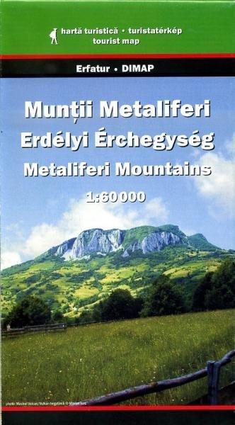 Metaliferi Mountains Map | wandelkaart 1:60.000 9789638845436  Dimap   Wandelkaarten Roemenië, Moldavië