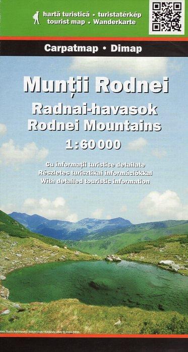 DMP-15  Munti Rodnei   wandelkaart 1:50 000 9789638845498  Dimap Wandelkaarten Roemenië  Wandelkaarten Roemenië, Moldavië