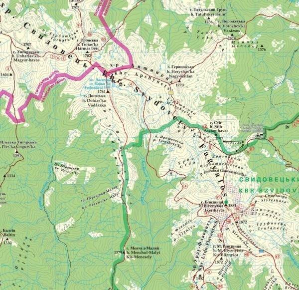 Maramures (East Carpathians)   wandelkaart 1:50.000 9789639251519  Dimap   Wandelkaarten Oekraïne
