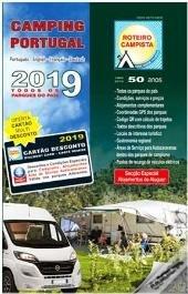 Roteiro Campista 2019 | Campinggids Portugal 9789728010058  Roteiro Campista   Campinggidsen Portugal