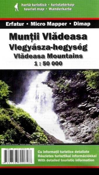 DMP-21  Muntii Vladeasa | wandelkaart 1:50.000 9789738820227  Dimap Wandelkaarten Roemenië  Wandelkaarten Roemenië, Moldavië
