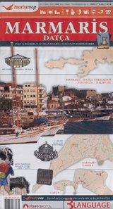Marmaris Tourist Map 9789759137076  Mapmedya   Stadsplattegronden Turkse Riviera, overig Turkije