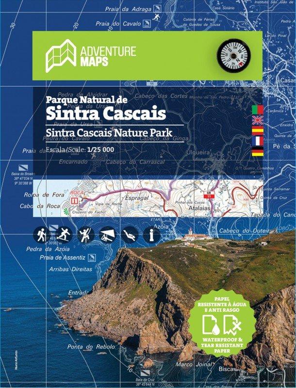 Parque Natural de Sintra Cascais | wandelkaart 1:25.000 9789892064031  Adventure Maps   Wandelkaarten Noord en Midden-Portugal, Lissabon