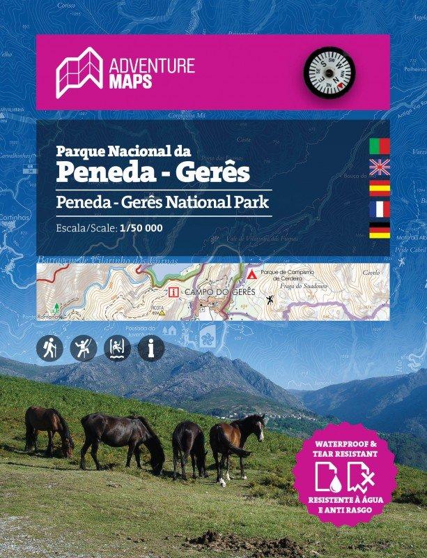 Parque Natural Peneda - Geres | wandelkaart 1:25.000 9789892073408  Adventure Maps   Wandelkaarten Noord en Midden-Portugal, Lissabon