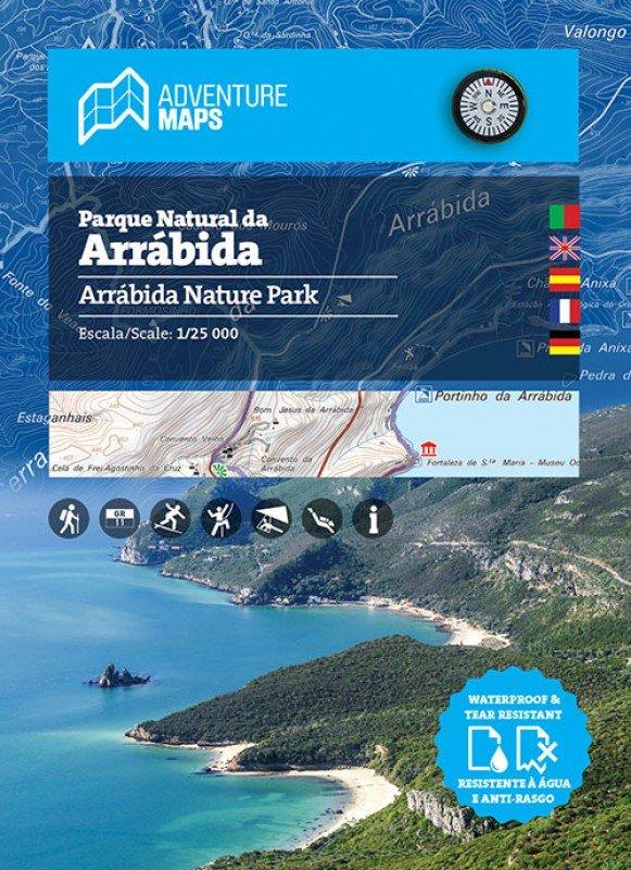 Parque Natural da Arrábida | wandelkaart 1:25.000 9789895405213  Adventure Maps   Wandelkaarten Noord en Midden-Portugal, Lissabon