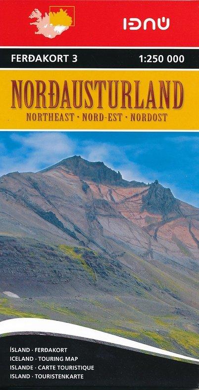 FK3  Noordoost-IJsland 9789979673736  Landmaelingar Islands Ferdakort 1:250.000  Landkaarten en wegenkaarten IJsland