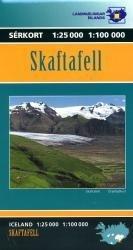 LI-D  Skaftafell 1:100.000/25.000 9789979750529  Landmaelingar Islands Special Maps  Wandelkaarten IJsland