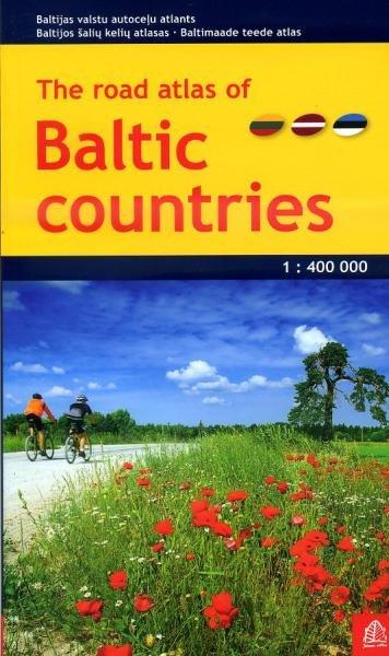 Baltische Staten 1:400.000 atlas 9789984076416  Jana Seta   Wegenatlassen Baltische Staten en Kaliningrad