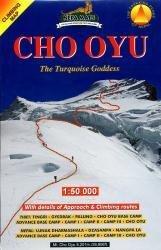 Cho Oyu 1:50.000 9789993323884  Nepa Maps Wandelkaarten Nepal  Wandelkaarten Nepal
