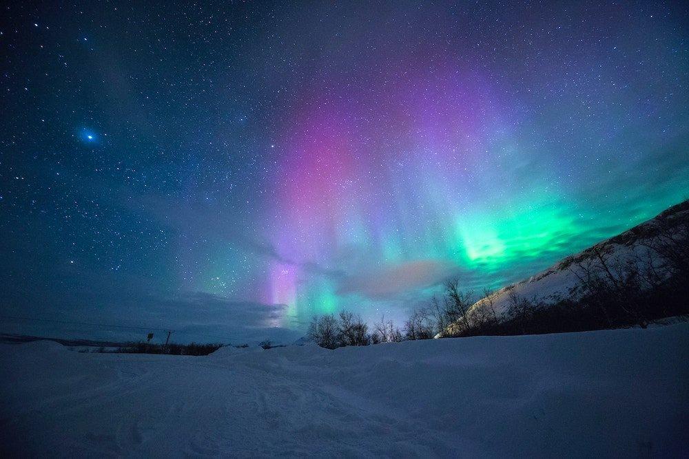 Noorderlicht noorwegen camperreis
